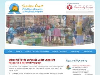 Sunshine Coast Child Care Resource and Referral Program