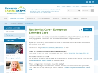 EVERGREEN EXTENDED CARE