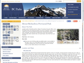 Mount Richardson Provincial Park