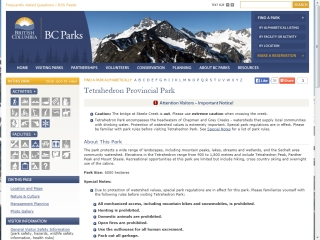 Tetrahedon Provincial Park