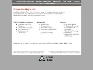 Production Magic