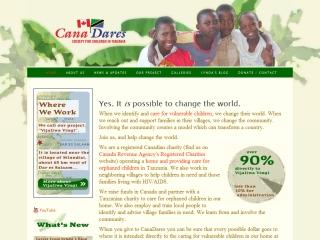 CanaDares Society for Children in Tanzania