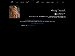 Kirsty Tosczak Your Local Sechelt Realtor