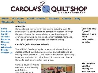 Carola's Quilt Shop