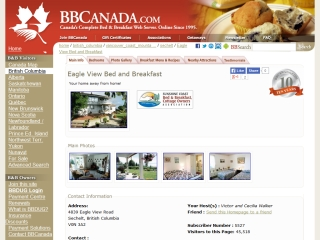 Eagle View Bed and Breakfast