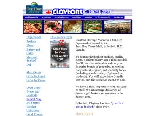 Clayton's Heritage Market