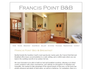 Francis Point Bed & Breakfast