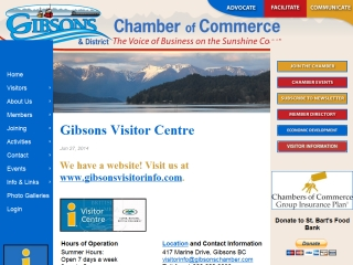 Gibsons Visitor Info Centre