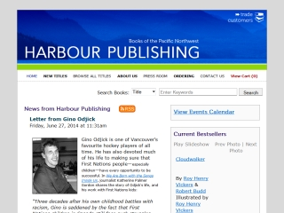 Harbour Publishing Co. Ltd.