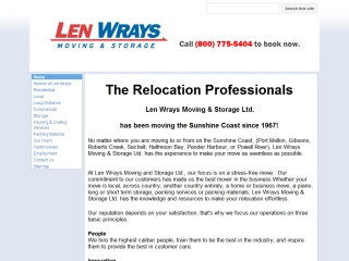 Len Wrays Moving and Storage