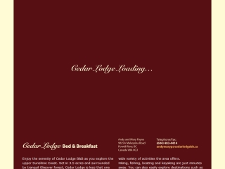 Cedar Lodge Bed & Breakfast