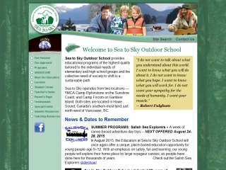 Sea to Sky Outdoor School