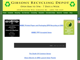 Gibsons Recycling Depot