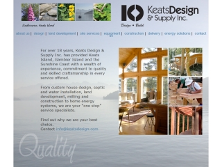 Keats Island Builders - Keats Design & Supply Inc.