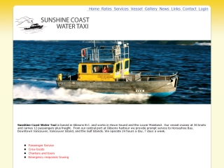 Sunshine Coast Water Taxi