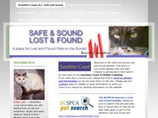 Safe & Sound Lost & Found