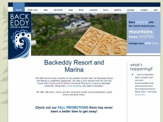 Backeddy Marina Resort
