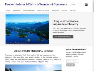 Pender Harbour and Egmont Chamber of Commerce