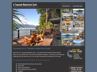 A Tuwanek Waterfront Suite