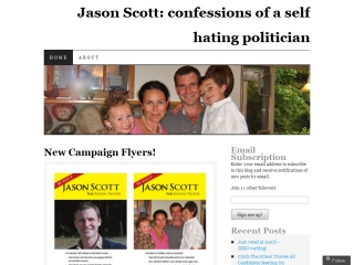 Jason Scott: Confessions of a self-hating politician