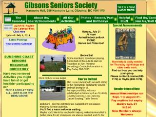 Gibsons Seniors Society