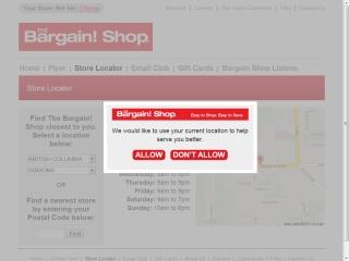 The Bargin Shop