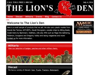 The Lions Den Hobbies