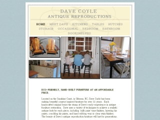 Dave Coyle  Antique Reproductions