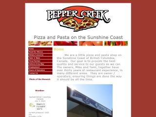 Pepper Creek Pizza
