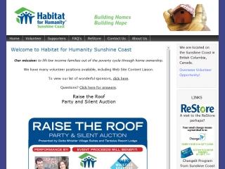 Habitat for Humanity Sunshine Coast