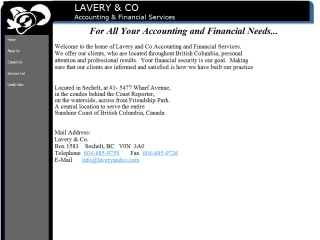 Lavery & Co. Accounting and Financial Services