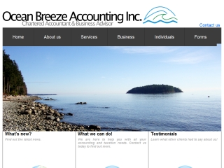 Ocean Breeze Accounting