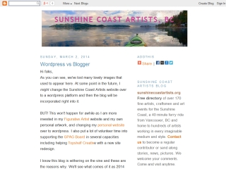 Sunshine Coast Artists - Blog