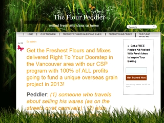 The Flour Peddler