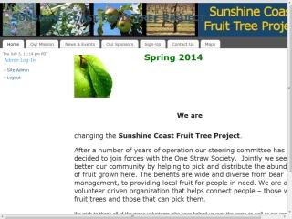 Sunshine Coast Fruit Tree Project