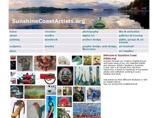 Sunshine Coast Artists- Directory