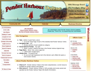 Pender Harbour Online