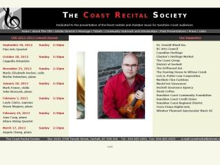Coast Recital Society