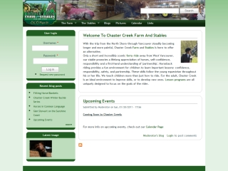 Chaster Creek Farm and Stables