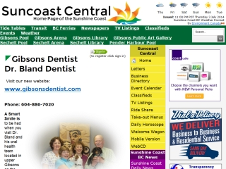 Gibsons Dentist Dr. Bland Dentist