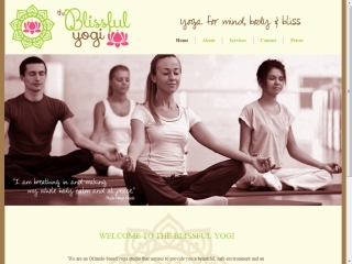 The Blissful Yogi