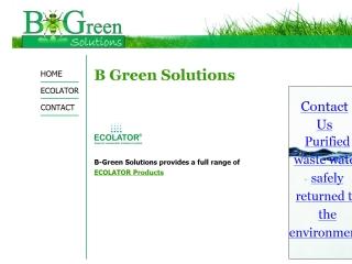 B-Green Solutions