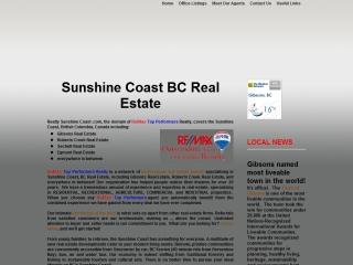 Sunshine Coast BC Real Estate