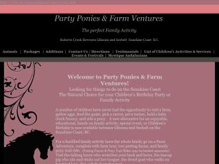 Party Ponies & Farm Ventures