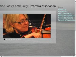 The Sunshine Coast Community Orchestra Association
