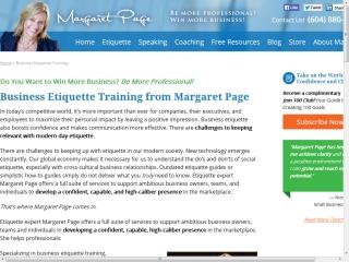 Etiquette Page