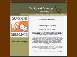 Sunshine Seedlings