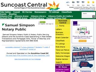 Samuel  Simpson Notary Public