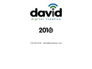 David Shao Digital Creative