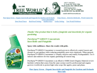 Tree World Plant Care Products  - Sechelt